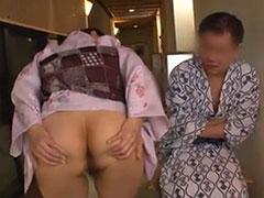 仲居とセックス