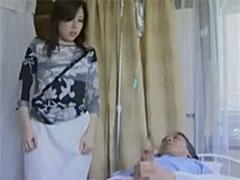 病室でフェラチオ